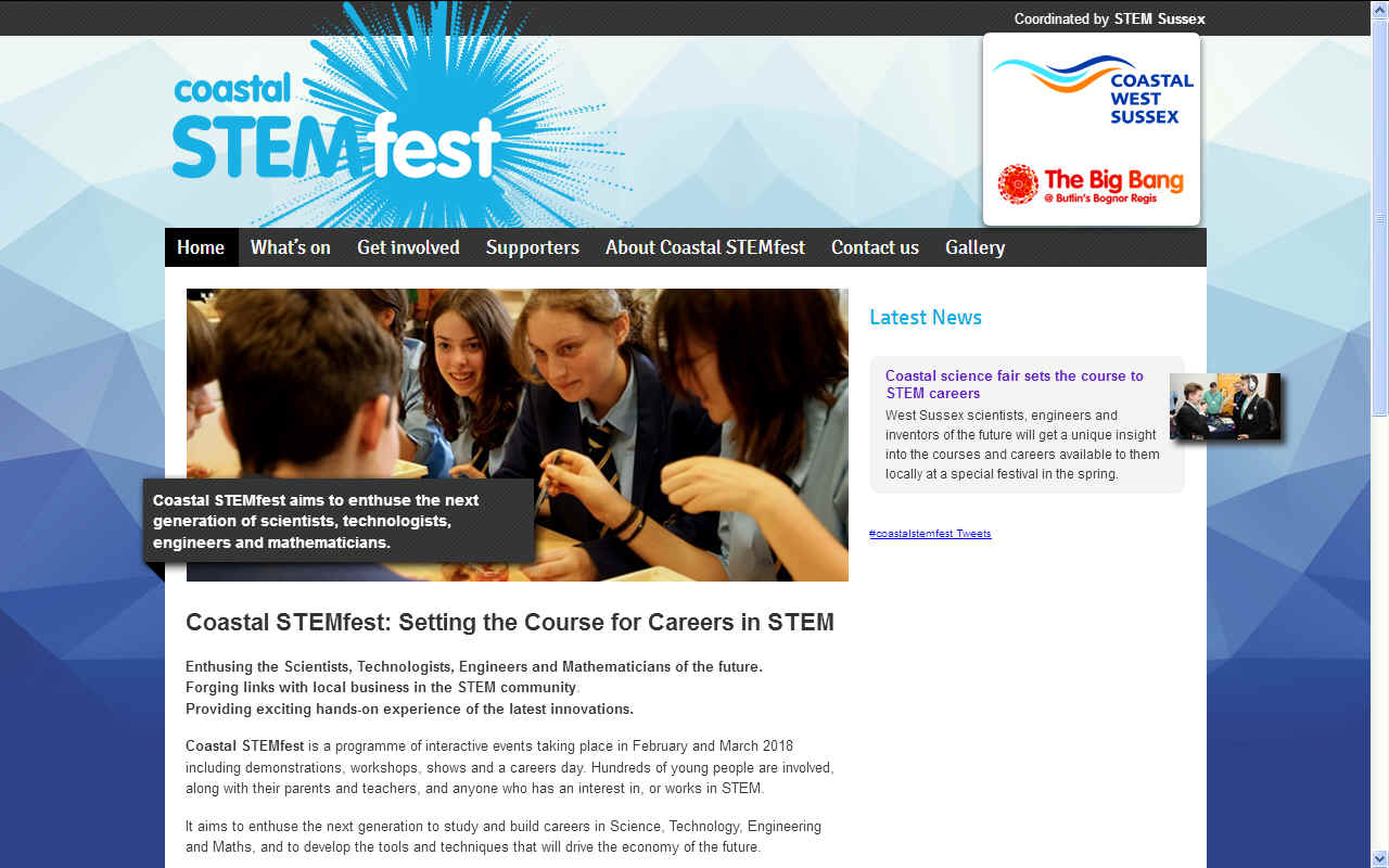 Coastal Stemfest and the Big Bang