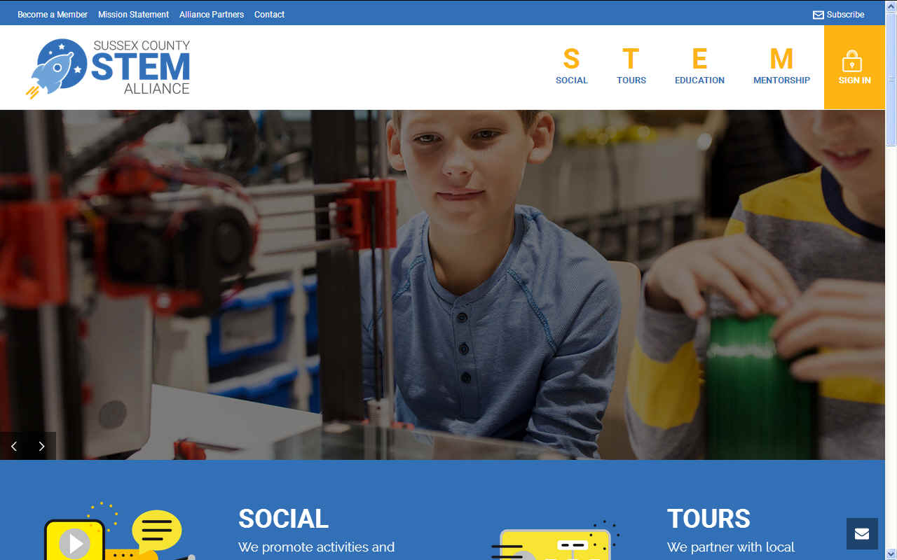 Sussex County STEM alliance, Delaware, USA