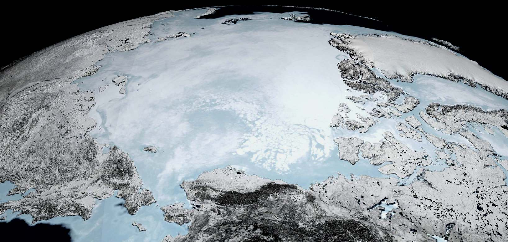 Arctic Ocean sea ice melt over fishing fears