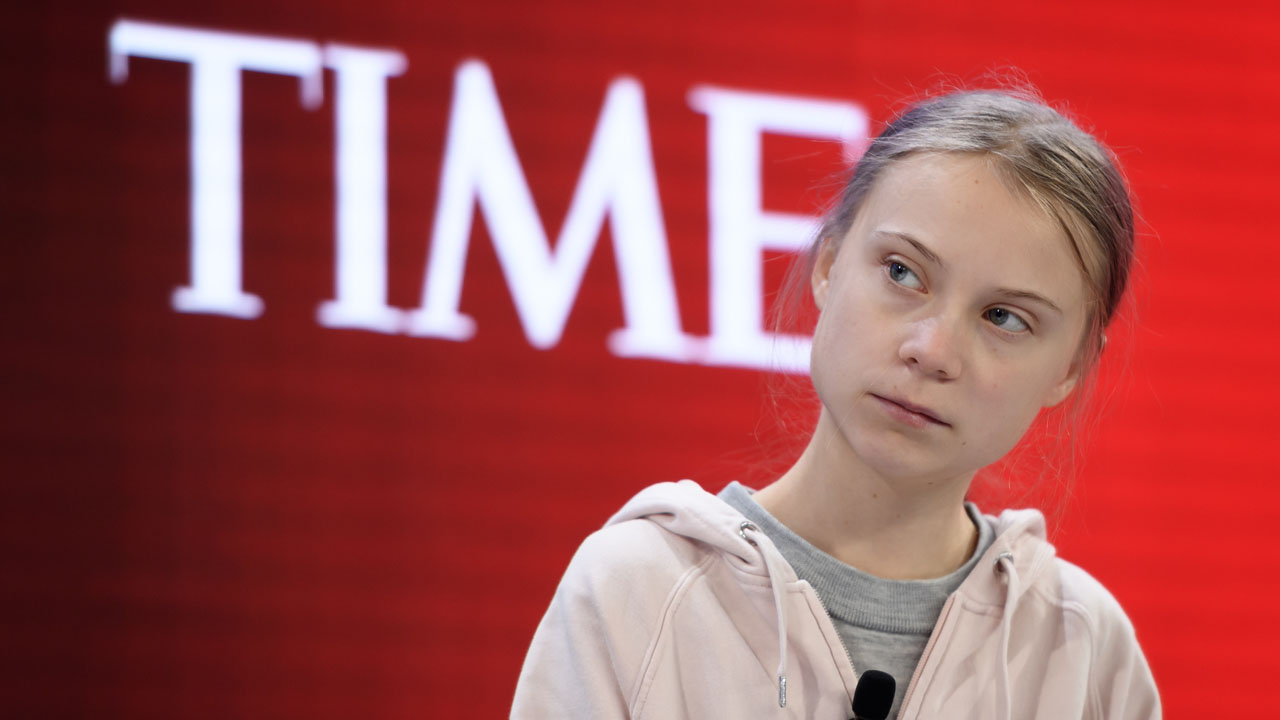 "Greta Thunberg @ Davos 2020 ""Basically, nothing has changed"""