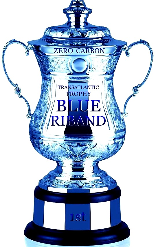 The Blue Riband Atlantic Ocean Zero Carbon Trophy
